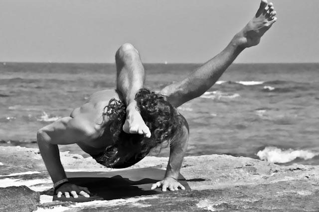 Hamsa Yoga Parsva Dandasana